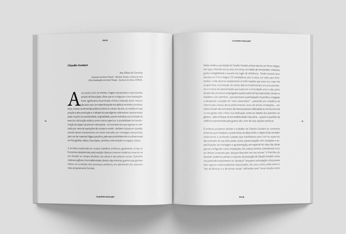 Catálogo Claudio Goulart