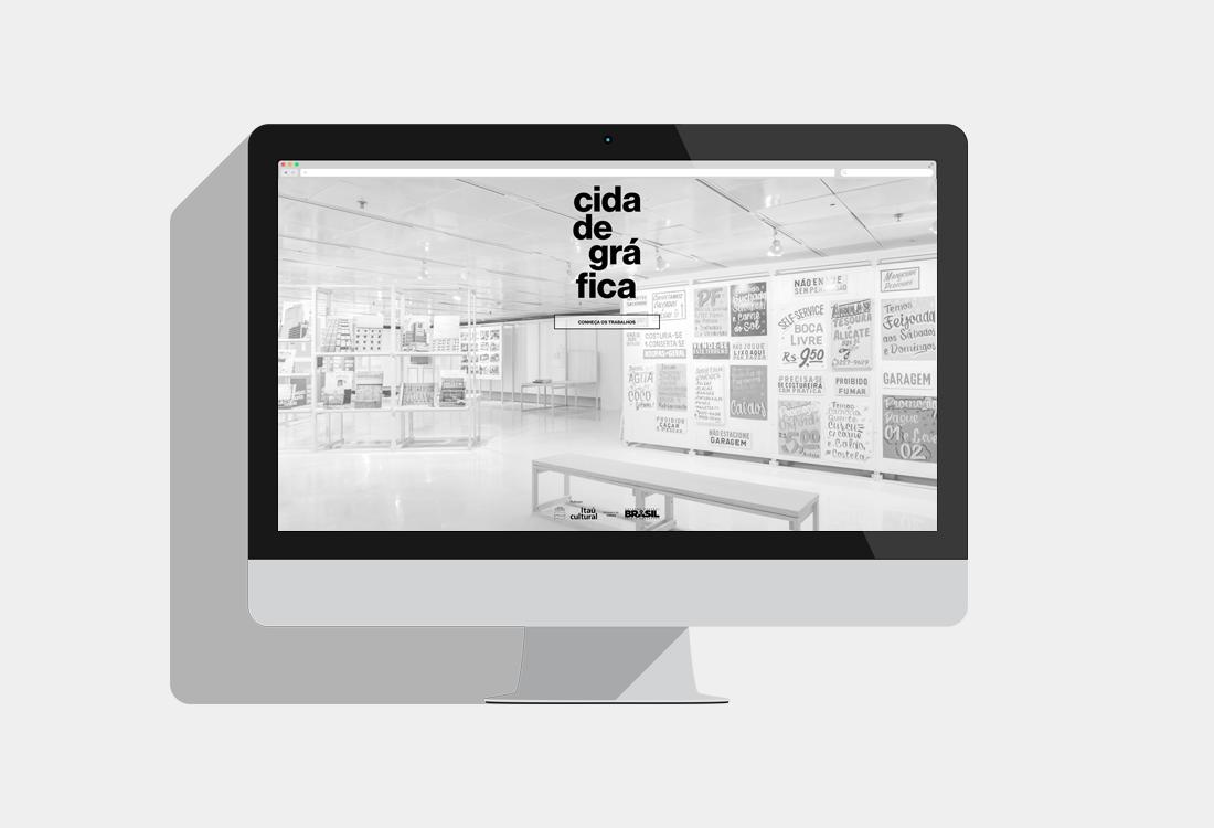 Mostra Cidade Gráfica no Itaú Cultural